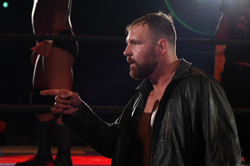 Check out Jon Moxley's Matchups for the 2019 NJPW G1 Climax Tournament