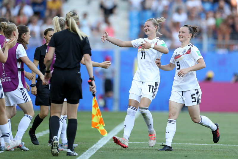 Germany Crush South Africa, Cruise into 2019 Women's World Cup Knockout Stage
