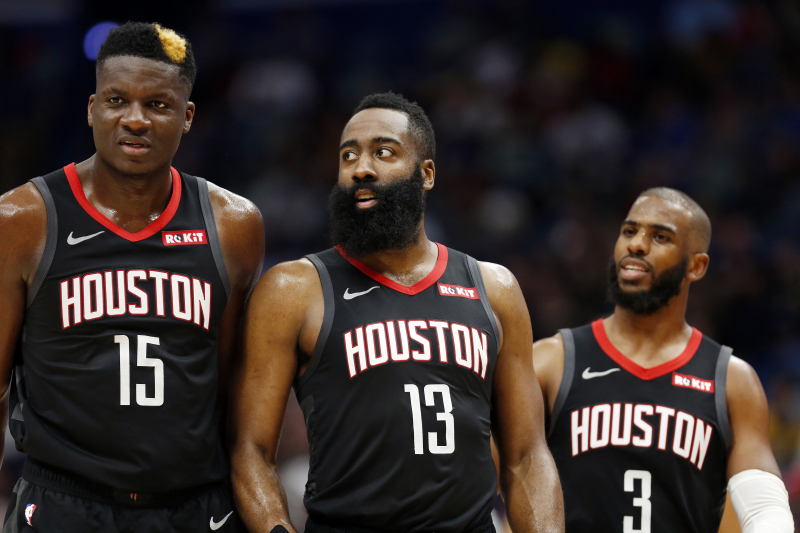 NBA Trade Rumors: Rockets Have Had 'Conversations' on Chris Paul, Clint Capela