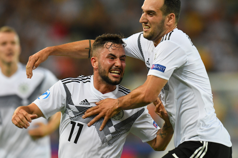 Marco Richter, Germany Beat Denmark 3-1 at 2019 U21 European Championship
