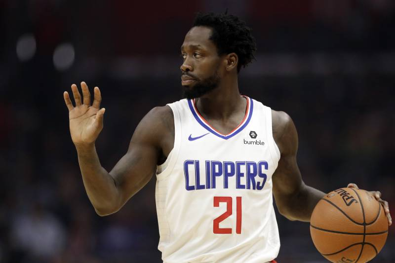 7305cc59 Los Angeles Clippers' Patrick Beverley during an NBA basketball game  Tuesday, March 19,