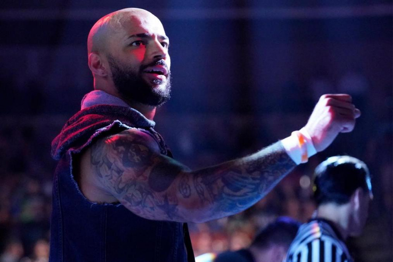 Ricochet to Face Samoa Joe at WWE Stomping Grounds After Fatal 5-Way Win on Raw