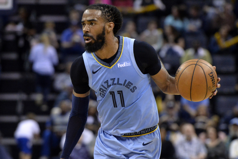 Mike Conley Trade Rumors: Celtics, Jazz, Pacers, Pistons Eyeing Grizzlies PG
