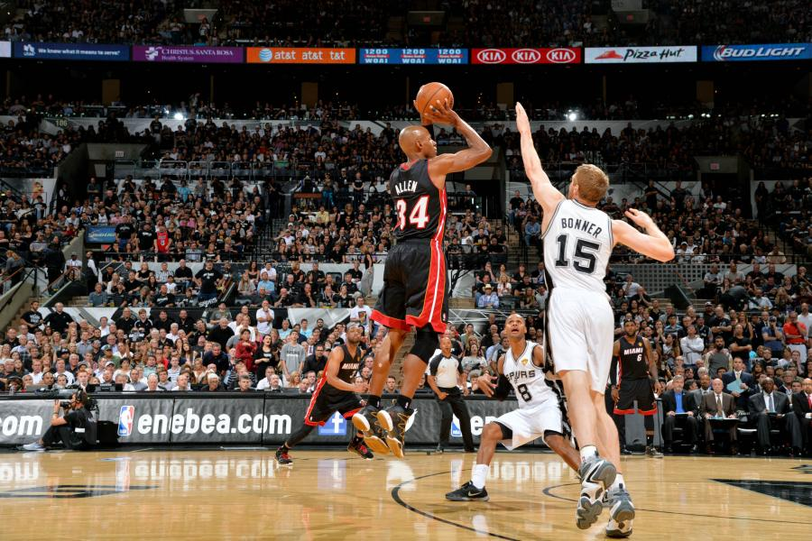 6 Years Ago, Ray Allen's Clutch Three Saved the Heat in the NBA Finals