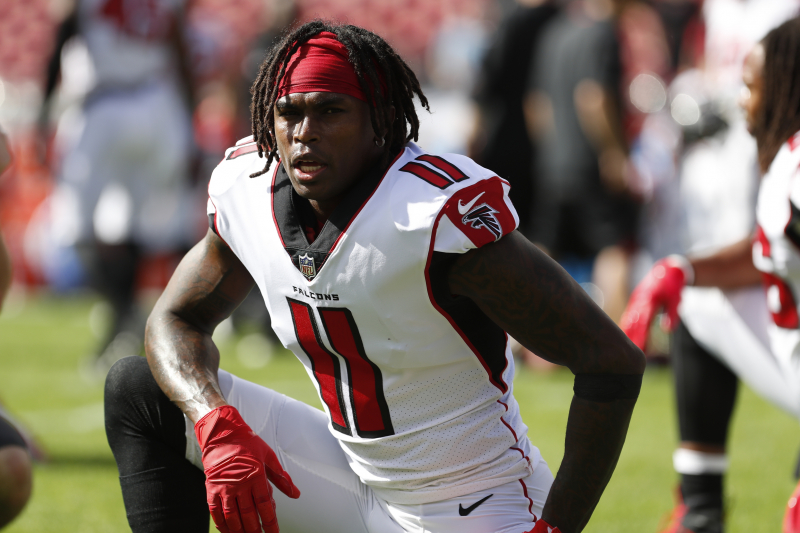 Report: Falcons Confident of Julio Jones Contract Extension Before Training Camp