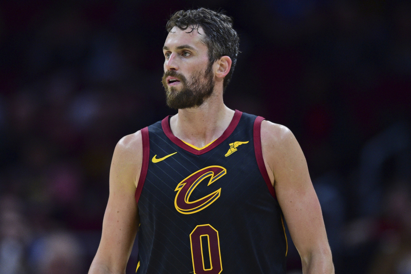 Kevin Love Trade Rumors: Cavs Have Included PF in Talks, 'Hard to Find' Deal