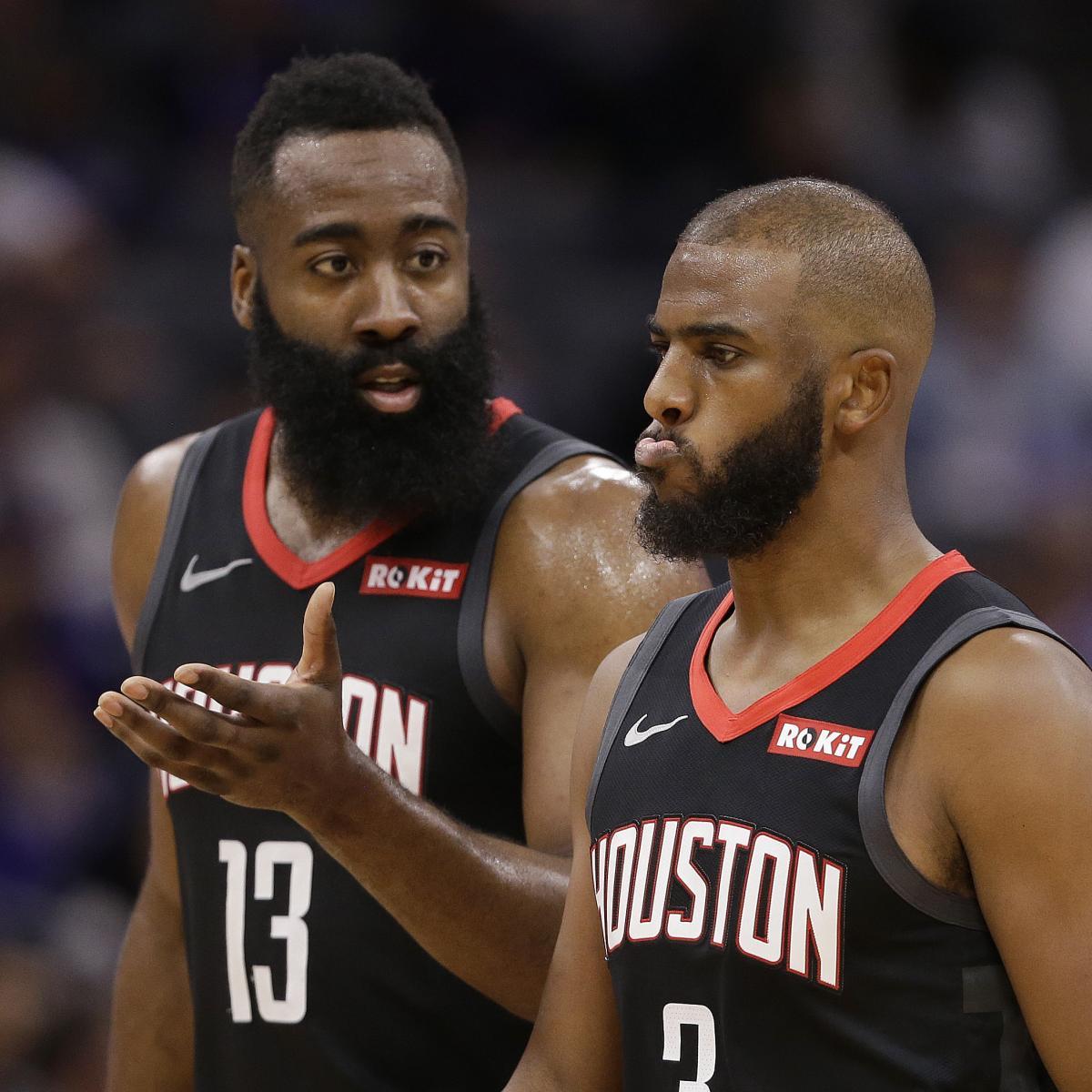 Houston Rockets News Trade: Rockets Rumors: Chris Paul Demanded Trade, James Harden