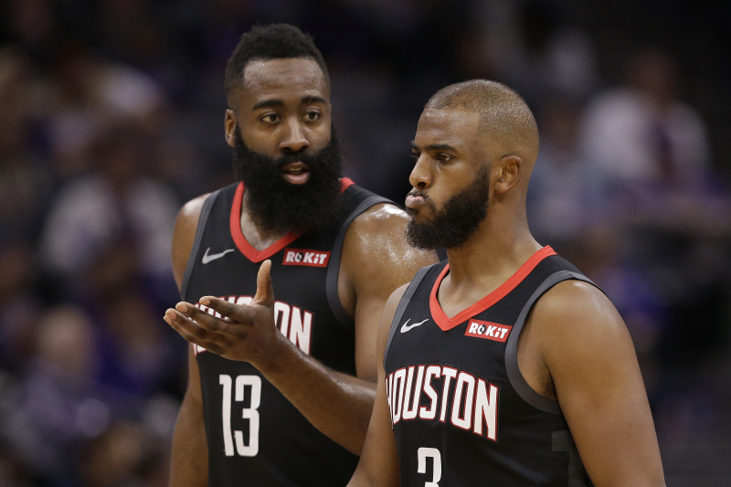 Rockets Rumors: Chris Paul Demanded Trade, James Harden Had 'Him or Me' Demand