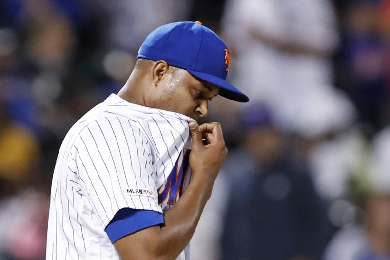 Mets News: Jeurys Familia Placed on 10-Day IL with Shoulder Injury