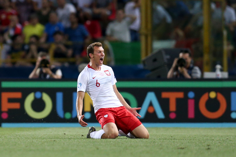 Krystian Bielik Scores as Poland Beat Italy 1-0 in Group A in 2019 U21 Euros