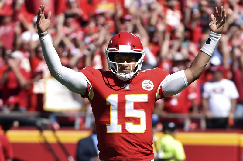 Patrick Mahomes, Carson Wentz and Andrew Luck Lead NFL MVP 2019 Odds