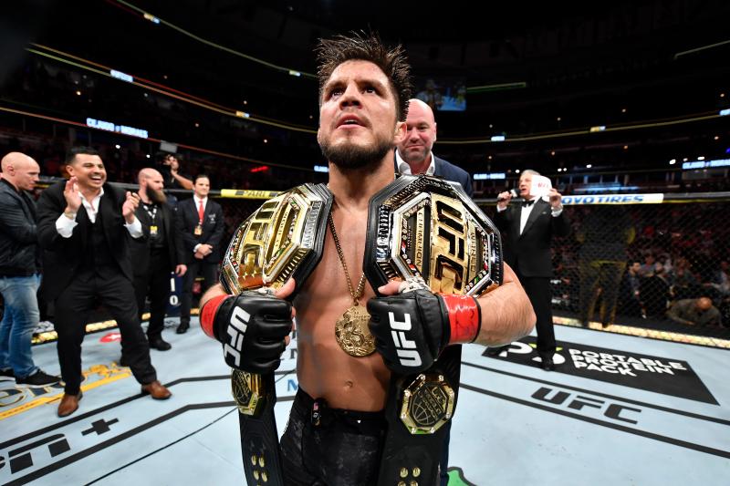 Report: UFC Champ Henry Cejudo Undergoing Shoulder Surgery; Out 4-5 Months