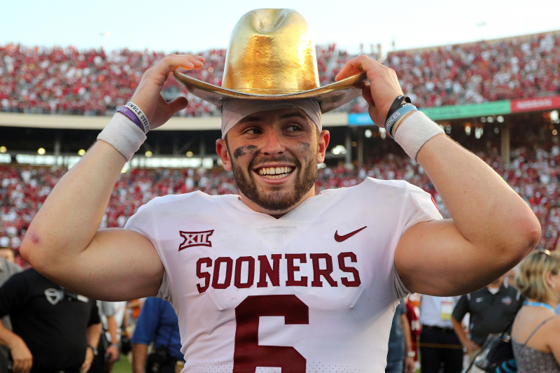 Browns' Baker Mayfield on Texas QB Sam Ehlinger: Hope He Knows I Don't Like Him