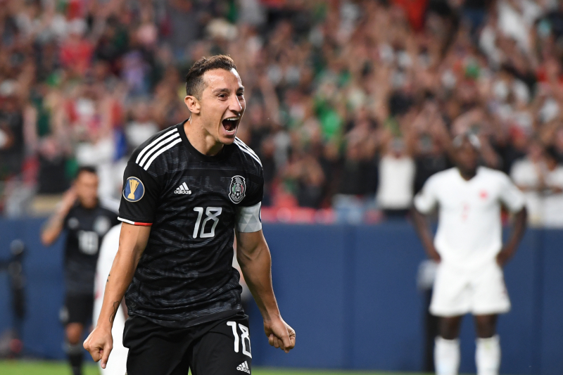 Andres Guardado's Brace Leads Mexico Past Canada 3-1 at 2019 Gold Cup