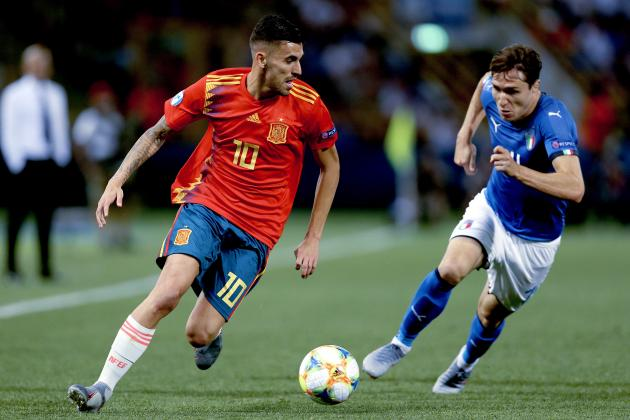 cdd0ebe3aed Spain vs. Poland: 2019 U21 EURO Live Stream, Schedule and Prediction |  Bleacher Report | Latest News, Videos and Highlights
