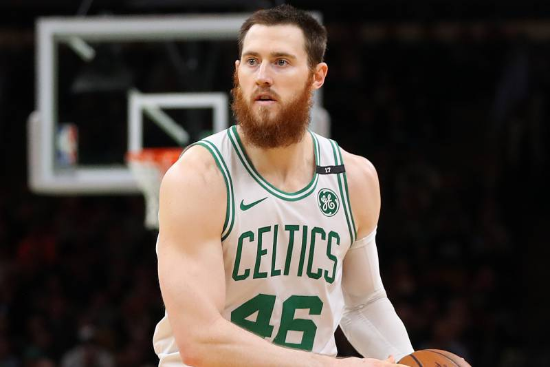 cheap for discount 9aa39 cb0c3 Celtics Trade Rumors: Aron Baynes Being Shopped Ahead of ...