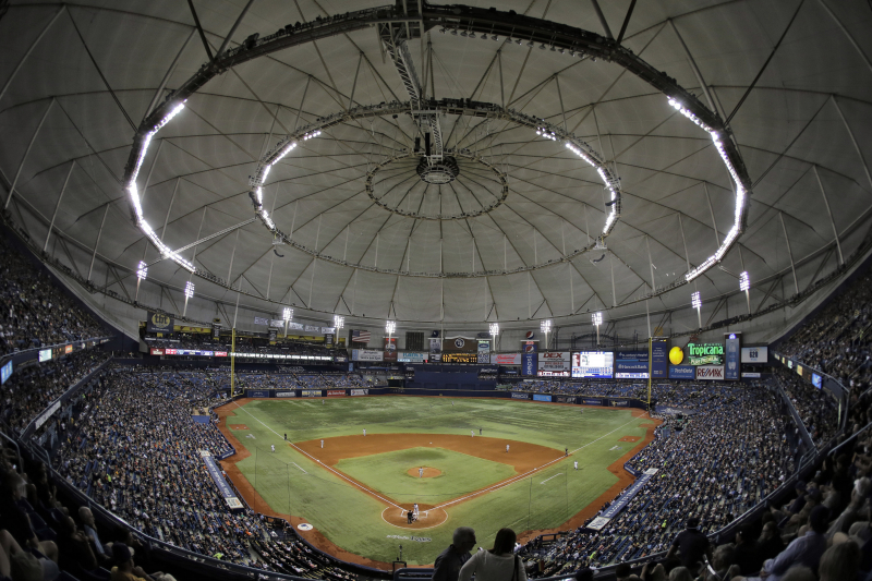 Rays Exploring Splitting Home Games Between Tampa Bay and Montreal