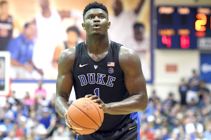 Zion Williamson's Duke Game-Worn Nike Shoes to Be Auctioned off