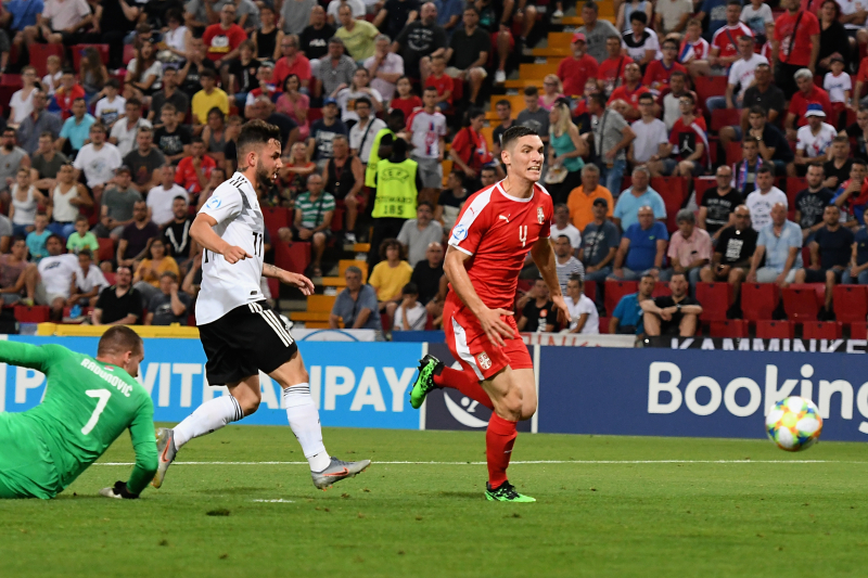 Luca Waldschmidt, Germany Eliminate Serbia with 6-1 Win in U-21 Euros