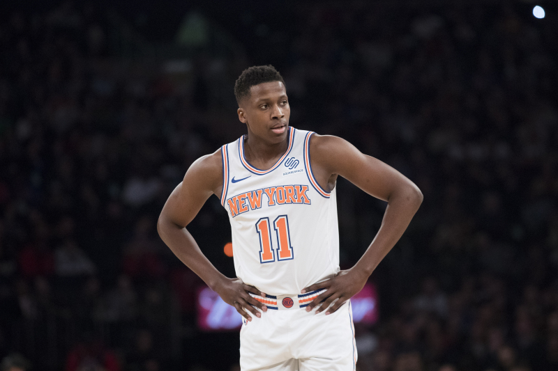 Knicks Trade Rumors: Frank Ntilikina Being Shopped for 2nd-Round Pick in Draft