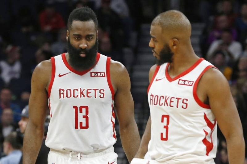 outlet store 8a875 00c2a Look: Houston Rockets Unveil New Uniforms for 2019-20 NBA ...