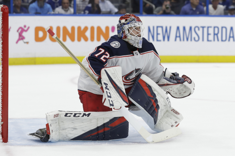 Report: Sergei Bobrovsky, Panthers Agree to 7-Year, $70M Contract