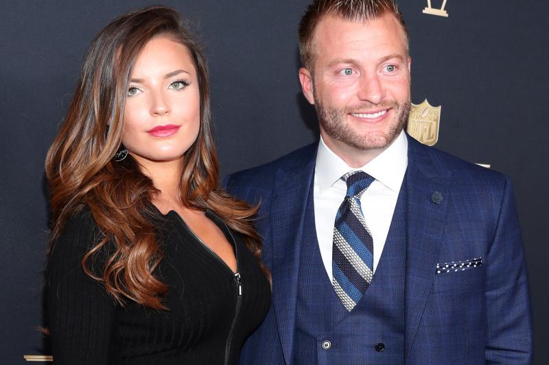 Sean McVay, Girlfriend Veronika Khomyn Announce Engagement