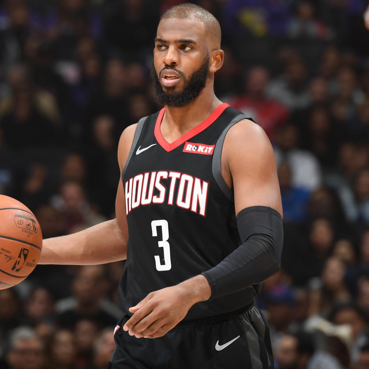 Houston Rockets News Today: Chris Paul On Rumors He Wants To Leave Rockets: 'I'll Be
