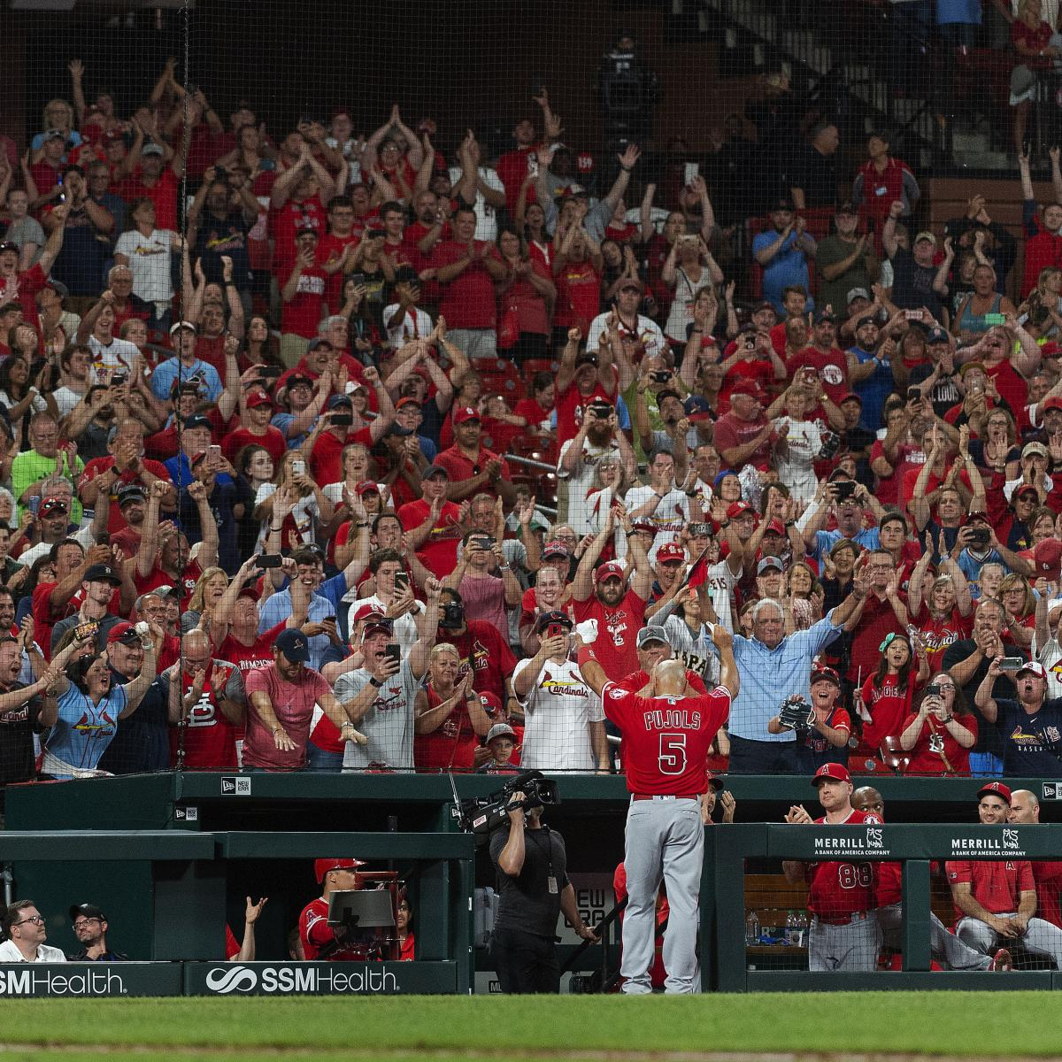 It was Albert Pujols weekend at Busch Stadium, and in case it was the 39-year-old's final trip to town, St. Louis Cardinals fans made sure to show him plenty of love throughout the three-game series...