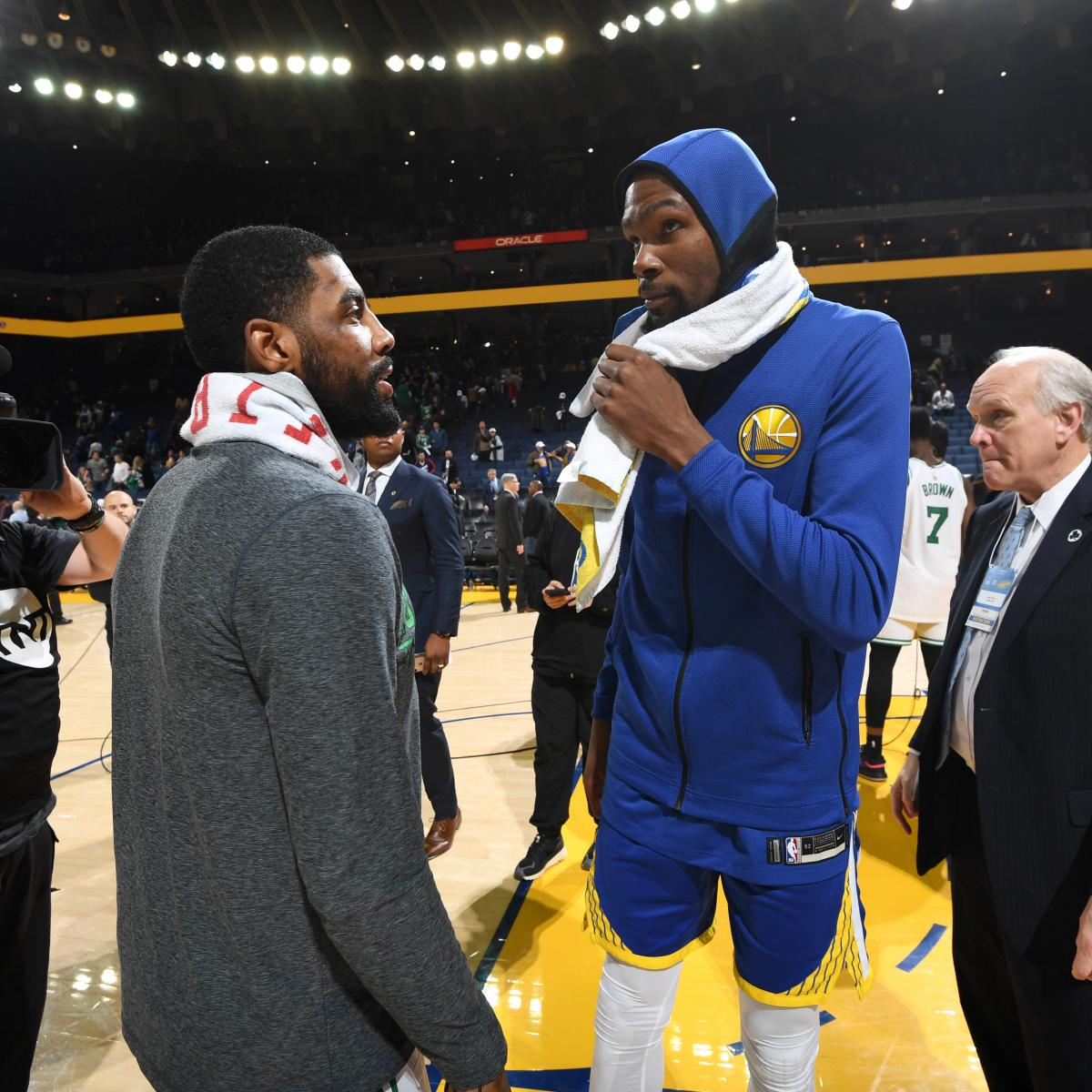 KD, Kyrie 'Met Twice' to Discuss Teaming Up; Kawhi Still Has NBA Guessing
