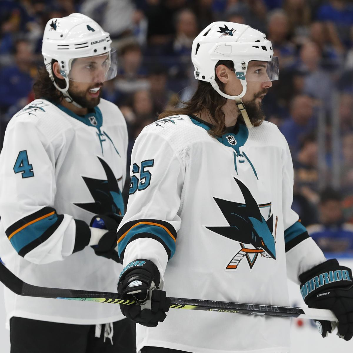 Nhl Trade Rumors Latest On Sharks Golden Knights Efforts To Clear