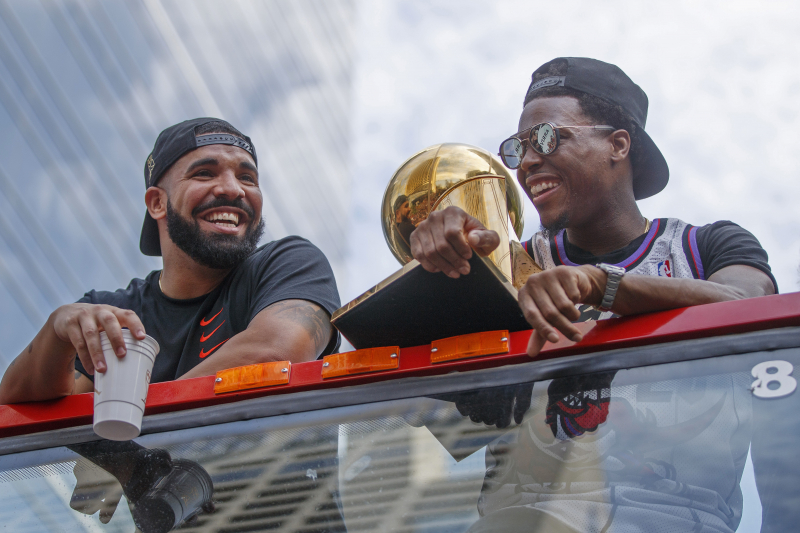Drake's Dad Dennis Graham Says He Won $300K Betting on Raptors to Beat Warriors
