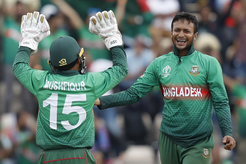 Cricket World Cup 2019 Results: Monday's Batting Averages and Top Run-Scorers
