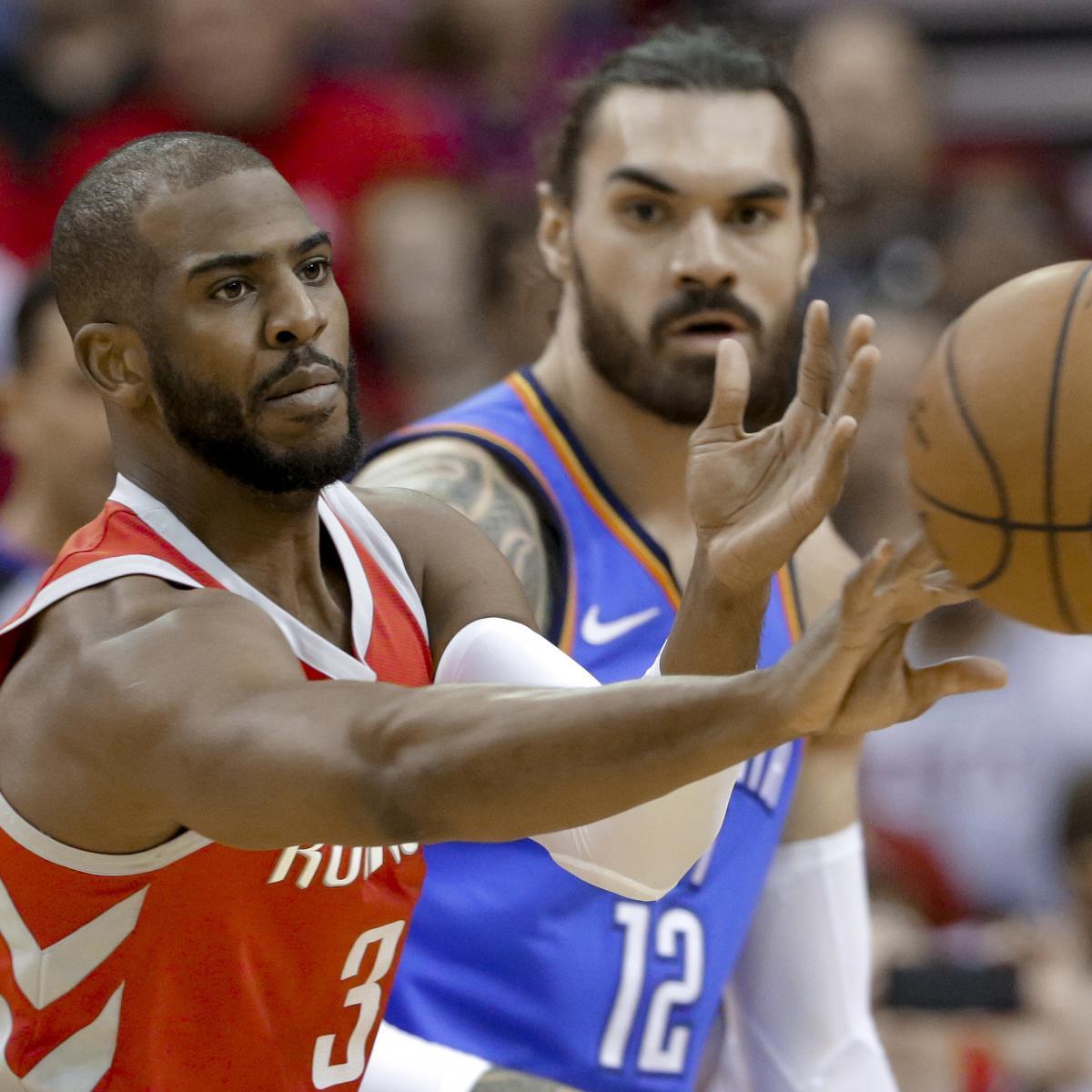 Houston Rockets News Trade: NBA Trade Rumors: Latest News On Chris Paul And Steven