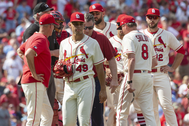 Cardinals' P Jordan Hicks' Elbow Injury Diagnosed as Torn UCL