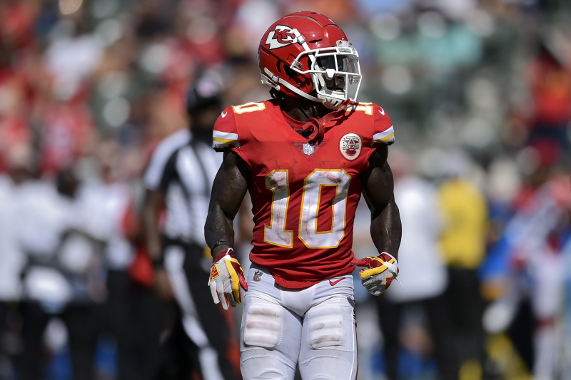 Report: Tyreek Hill to Meet with NFL Investigators Amid Child Abuse Allegations