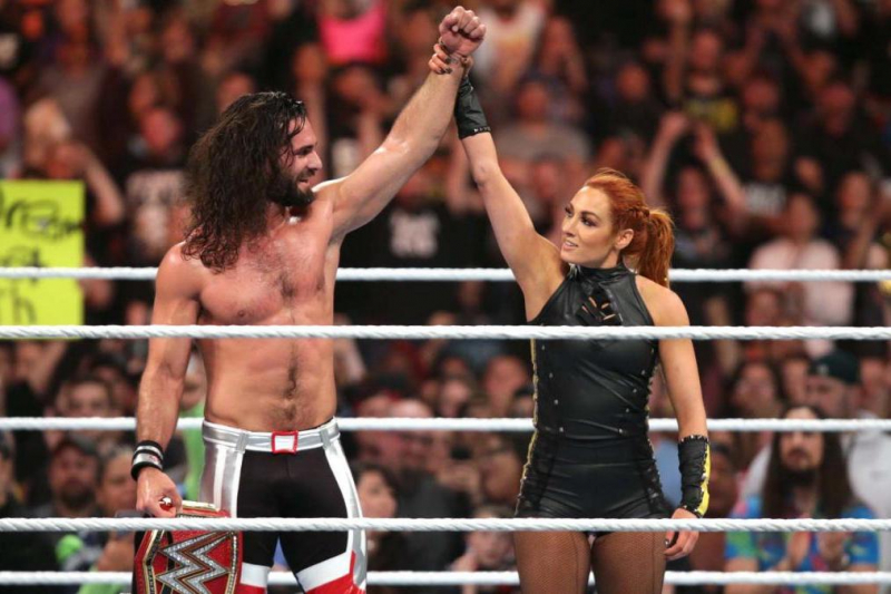 Seth Rollins, Becky Lynch vs. Baron Corbin, Lacey Evans Set at WWE Extreme Rules