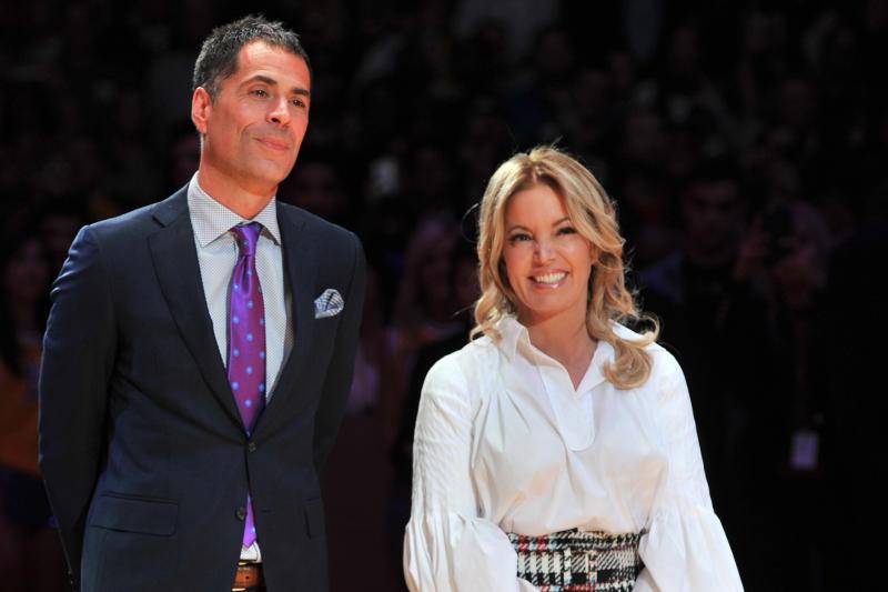 Lakers News: Jeanie Buss 'Very Happy' with GM Rob Pelinka Amid Rumors
