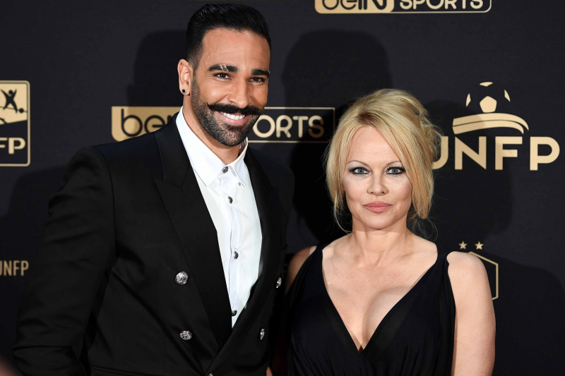 Pamela Anderson Calls Adil Rami a 'Monster' in IG Post About Domestic Abuse