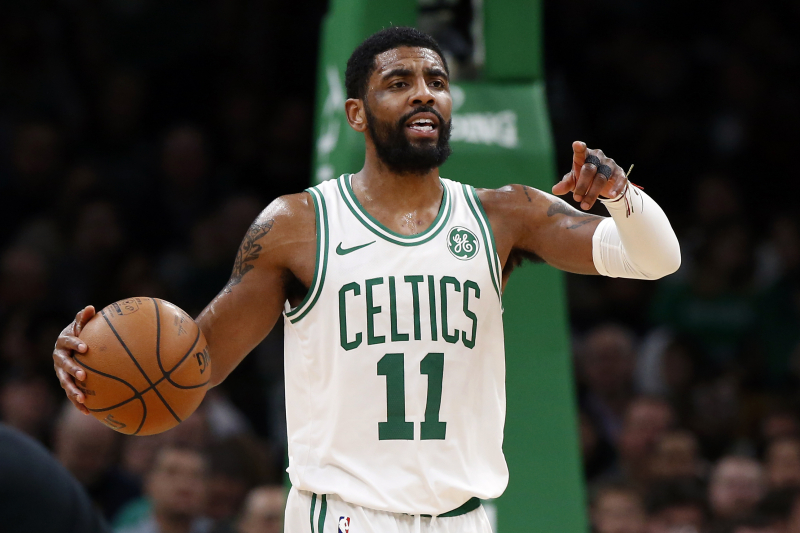 Kyrie Irving Odds: Nets Huge Favorites to Land PG over Lakers, Knicks