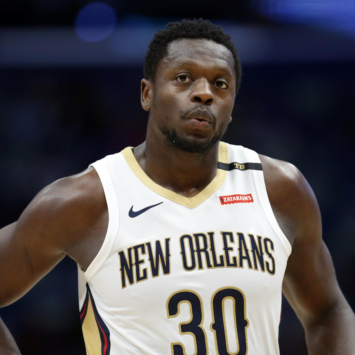 Julius Randle Rumors: Knicks Have 'Mutual Interest' with PF Entering Free Agency