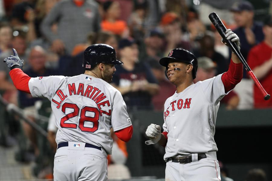 Boston Red Sox's Booming Bats Leading Charge into Wild-Card Race