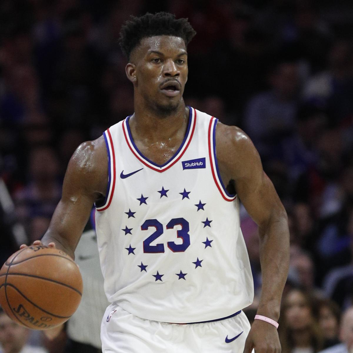 Jimmy Butler Rumors: Rockets to Pursue 76ers Star Through Sign-and-Trade