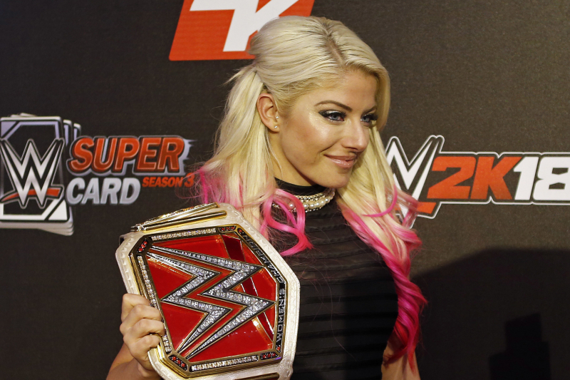 Bayley vs. Alexa Bliss Rematch for SmackDown Title Set for WWE Extreme Rules