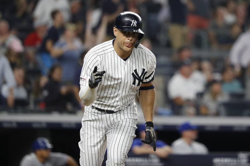 Giancarlo Stanton Out with Quad Injury; Yankees Hope He'll Return During ALCS