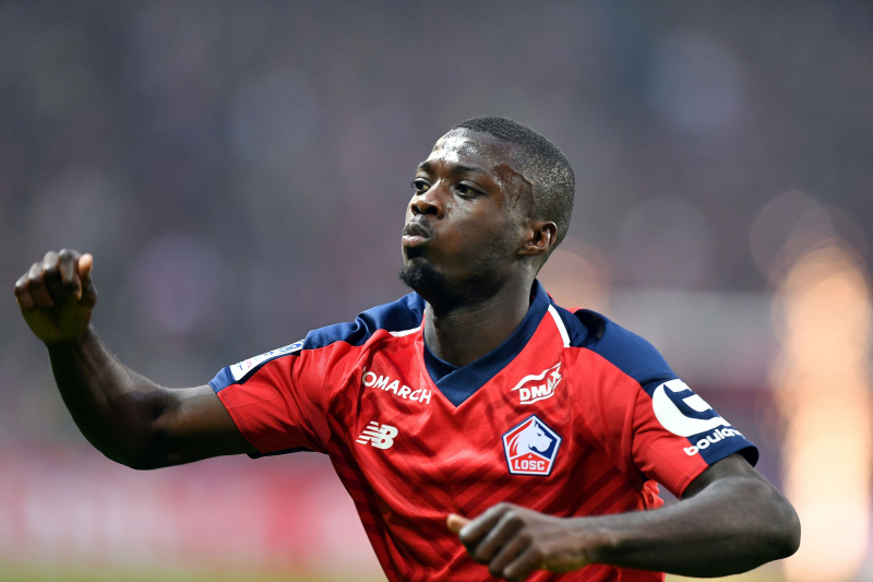 Report: Liverpool Describe Nicolas Pepe Transfer Rumours as 'Pure Lies'