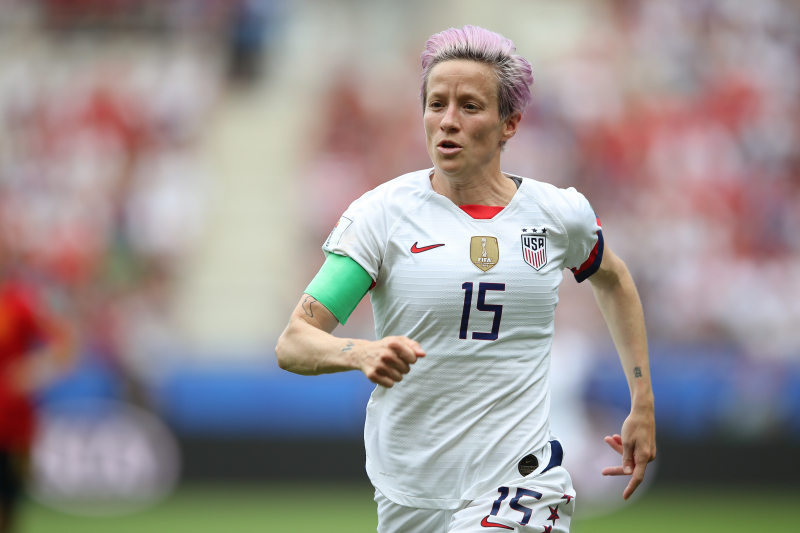 Megan Rapinoe: 'I'm Not Going to the F--king White House' If US Win World Cup