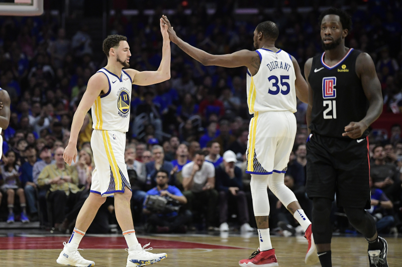 Warriors Rumors: Latest Buzz on Klay Thompson, Kevin Durant Free-Agent Contracts
