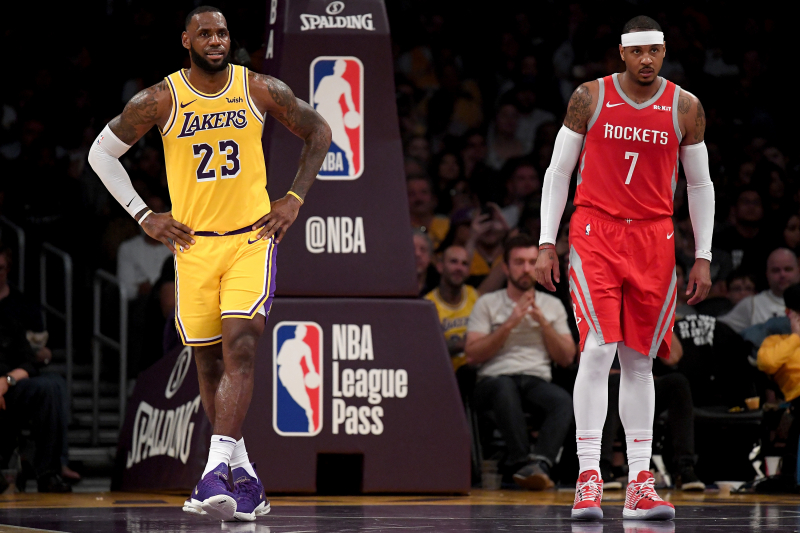 Lakers Rumors: Execs See Carmelo Anthony Joining LeBron James, Anthony Davis