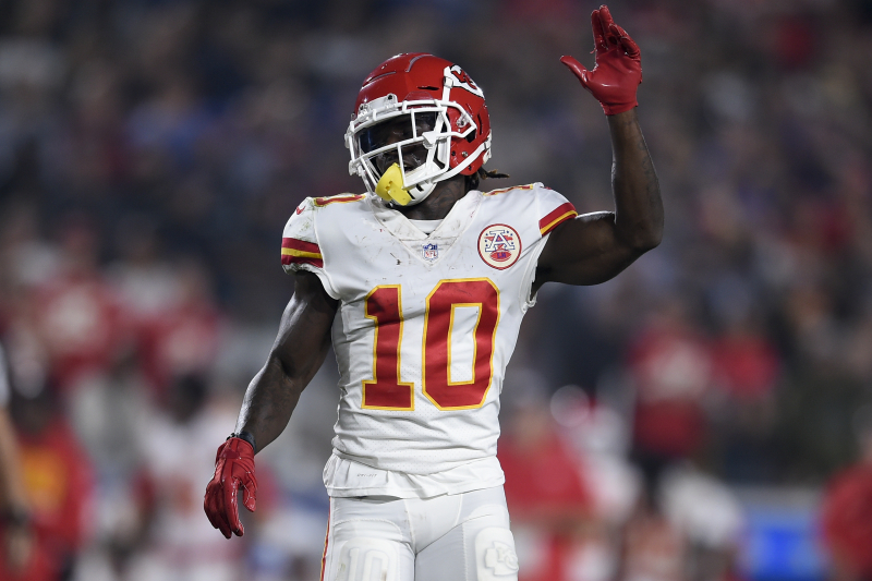 Chiefs' Tyreek Hill Reportedly to Meet with NFL Amid Child Abuse Investigation